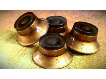 "Retro ""Relic"" Speed Knobs Les Paul Standard Gold Top Sunburst Gibson 1958 1959"