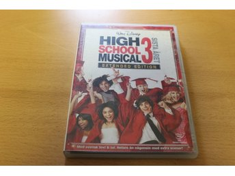 DVD-film: High school musical 3 - Sista året (Zac Efron, Vanessa Hudgens)
