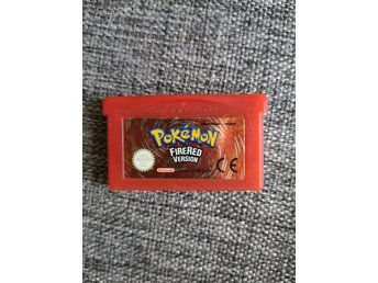 Pokémon Firered Version - GameBoy Advance, gba