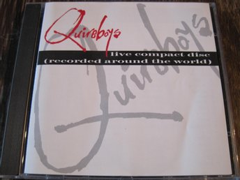QUIREBOYS - LIVE CD RECORDED AROUND THE WORLD, CD
