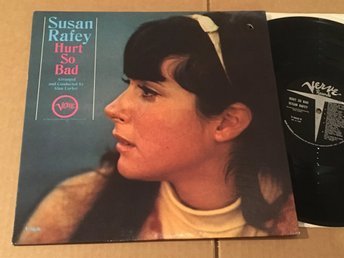 SUSAN RAFEY hurt so bad LP -66 US VERVE V6-8636
