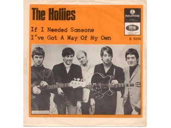 "HOLLIES - If I Needed Someone  7"" Singel  Sverige"