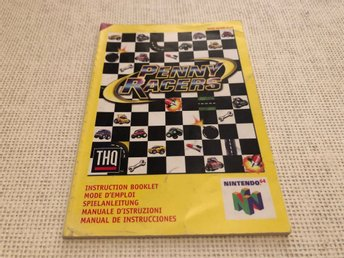 Penny Racers - N64 manual