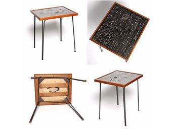 Soffbord Vintage : Hans agne jakobsson teak bord soffbord vintage retro tal