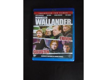 Wallander 2 Filmer - Tjuven + Cellisten - Bluray