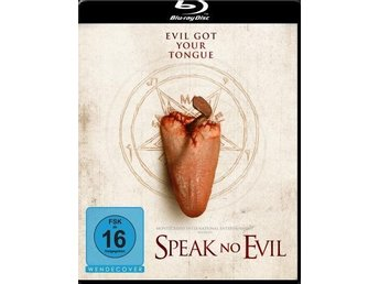 SPEAK NO EVIL (2013) BLURAY HORROR - Gabrielle Stone (Uncut)