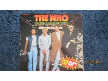 THE WHO / VINYL / Rare / LP / Compilation