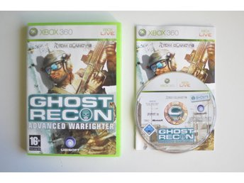 Ghost Recon Advanced Warfighter (komplett) till Xbox 360