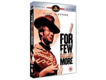 DVD - For A Few Dollars More - 2-Disc Special edition (1965) - Svensk text!
