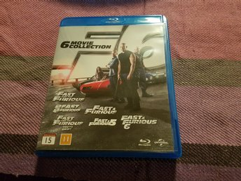 Fast & Furious 6 movie collection Blu-ray