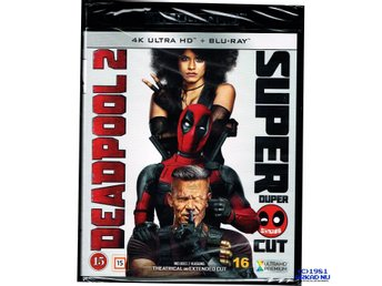 DEADPOOL 2 SUPER DUPER CUT 4K ULTRA HD +  BLU-RAY
