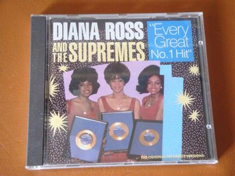 DIANA ROSS AND THE SUPREMES - EVERY GREAT NO.1 HIT CD 1987