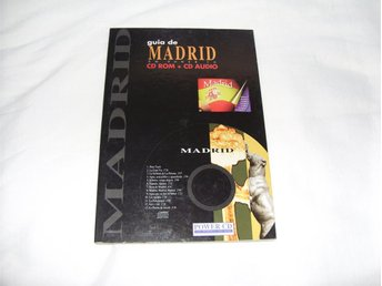 Rese Guide Madrid CD ROM + CD Audio till PC & Mac datorer