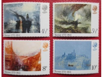 England - Birth Bicentenary of J M W Turner 1975 - Degerhamn - England - Birth Bicentenary of J M W Turner 1975 - Degerhamn