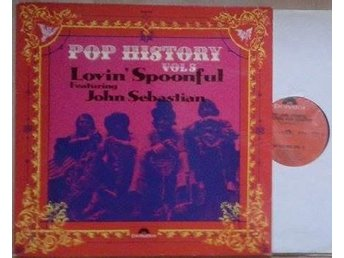 The Lovin' Spoonful Featuring John Sebastian ‎–  titel*  Pop History Vol 5*2xLP