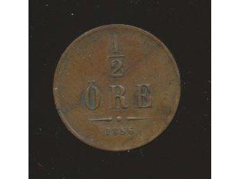 1856 1/2 öre Oscar I se bild - Västra Frölunda - 1856 1/2 öre Oscar I se bild - Västra Frölunda
