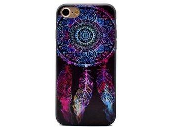 iPhone 7 PLUS - Drömfångare - Svart/Rosa/Blå - Mjukskal - Mjölby - iPhone 7 PLUS - Drömfångare - Svart/Rosa/Blå - Mjukskal - Mjölby