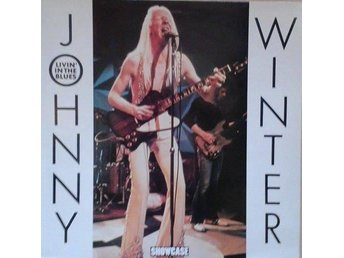 Johnny Winter title* Livin' In The Blues * UK LP NM