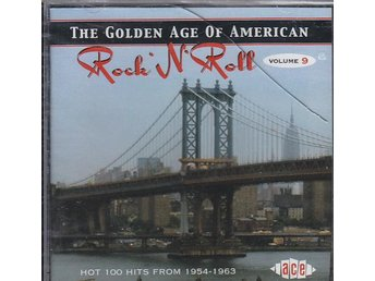 CD ACE Rec. The Golden Age Of American Rock N Roll Vol.9