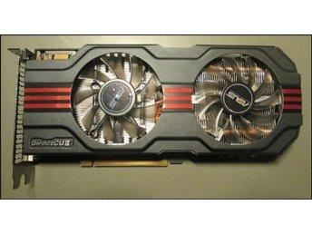 Top modell! ASUS GTX 560 DirectCU II TOP OC / 1024MB / 925MHz - Rönninge - Top modell! ASUS GTX 560 DirectCU II TOP OC / 1024MB / 925MHz - Rönninge