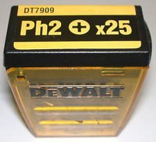 DeWALT BITS PH2 - 25-pack