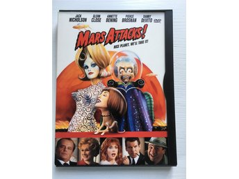 Mars Attacks DVD - Enskede - Mars Attacks DVD - Enskede