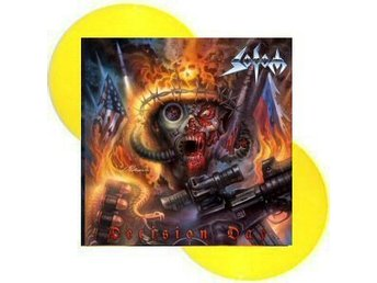 Sodom -Decision day DLP yellow vinyl ltd 300 copies Thrash m