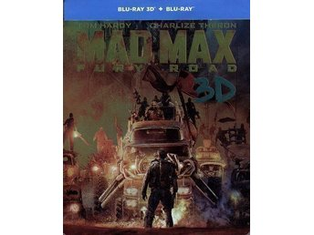 Mad Max - Fury road - Ltd Steelbook (Blu-ray 3D + Blu-ray) i NYSKICK
