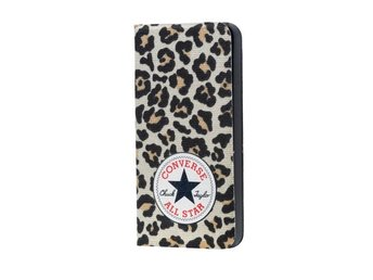 CONVERSE Mobilfodral Canvas iPhone 5/5s/SE Leopard