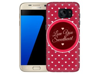 Samsung Galaxy S7 Edge Skal Sweetheart