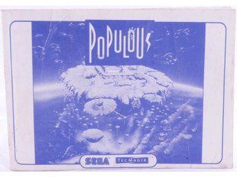 Populous (Manual) -  - PAL (EU)
