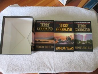 Terry Goodkind The Sword of truth 3 böcker