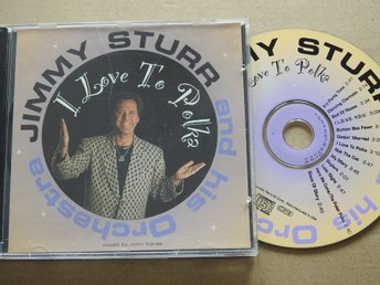 Jimmy Sturr & His Orchestra - I Love to Polka CD