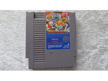 Ghost'n Goblins med manual - NES 8-bit