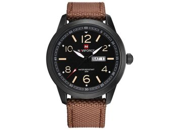 Klocka Herr New NAVIFORCE Watches coffee