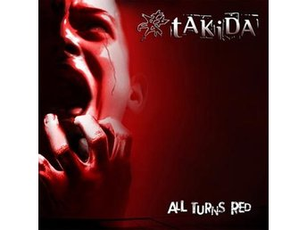 Takida: All turns red 2014 (CD)