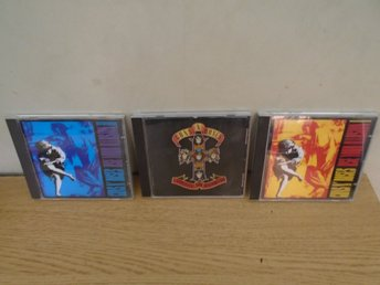 Guns N Roses 3 Album! Apetite for destruction - Use your Illusion I & II