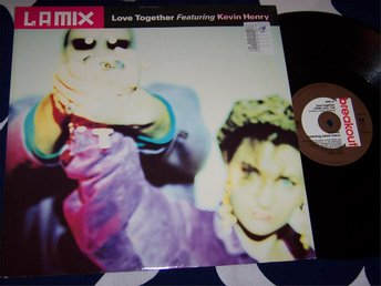 "LA MIX - LOVE TOGETHER 12"" 1990"
