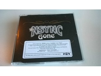 NSync - Gone, CD, Single, promo