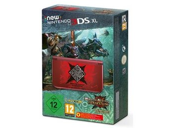 New 3DS XL HW Monster Hunter Generations Ed. FRAKTFRITT