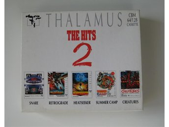 Thalamus - The Hits 2 ( C64 - Commodore 64 - 3 stycken Datasettes - Komplett )