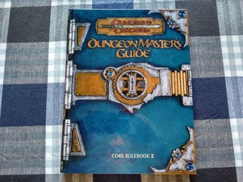 D&D, Dungeon master's guide, Hardcover, 256s
