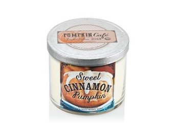 BATH & BODY WORKS 3wicks Candle SWEET CINNAMON PUMPKIN FYNDA - Stora Höga - BATH & BODY WORKS 3wicks Candle SWEET CINNAMON PUMPKIN FYNDA - Stora Höga
