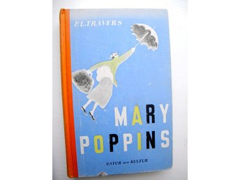 MARY POPPINS P.L. Travers 1935 1:a sv. utgåvan!