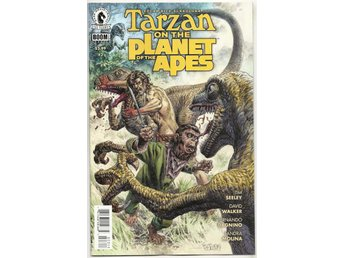 Tarzan on The Planet of The Apes # 3 NM Ny Import