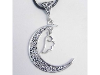 Moln måne halsband / Cloud moon necklace