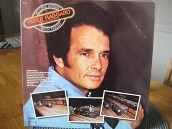 "LP: MERLE HAGGARD & THE STRANGERS: "" MY LOVE AFFAIR WITH TRA"
