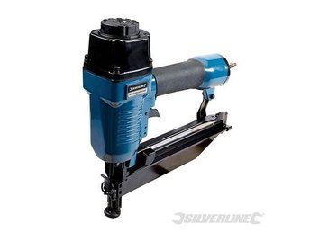 SILVERLINE AIR FINISHING NAILER NAIL GUN 64MM 16 GAUGE