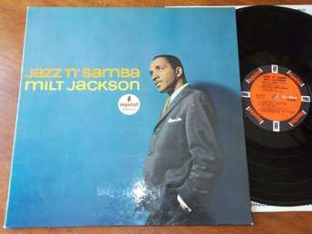 MILT JACKSON - Jazz 'N' Samba, LP Impulse AS-70 Stereo USA 1964