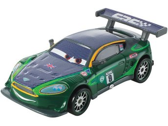 Cars Bilar Disney Pixar - Nigel Gearsley Carbon Racers Metall FP
